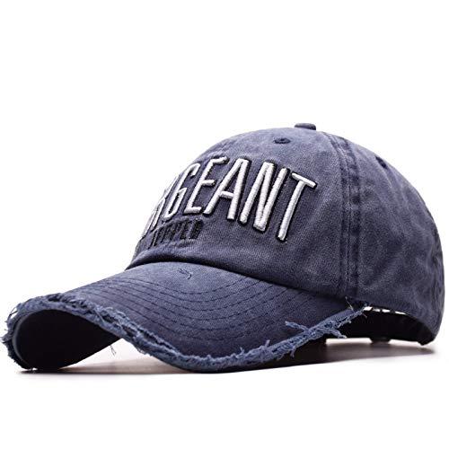 AdorabFitting-Cap Gorras Beisbol Baseball Cap Sombrero Boinas Hat Moda Bordada de Hombre y Mujer con Letras de Gorra. Azul Oscuro M(56-58cm): Amazon.es: ...