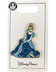 Disney Pin - Sitting Glitter Princess Cinderella