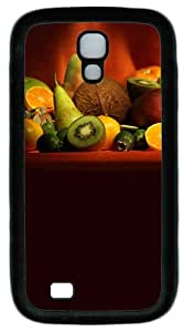 Samsung Galaxy S4 I9500 Case and Cover -Fruit Daquan TPU Silicone Rubber Case Cover for Samsung Galaxy S4 I9500¨CBlack
