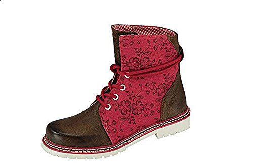 lacets amp; Rouge Chaussures Wensky Rot Janina femme Spieth à 6YaqCwn