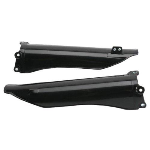 UFO Plastics FRK SLDR BK KTM 125/525 01-07 Body Plastics Fork Slider Protectors BLK KTM 125/525 ALL 01-03 - KT03064-001