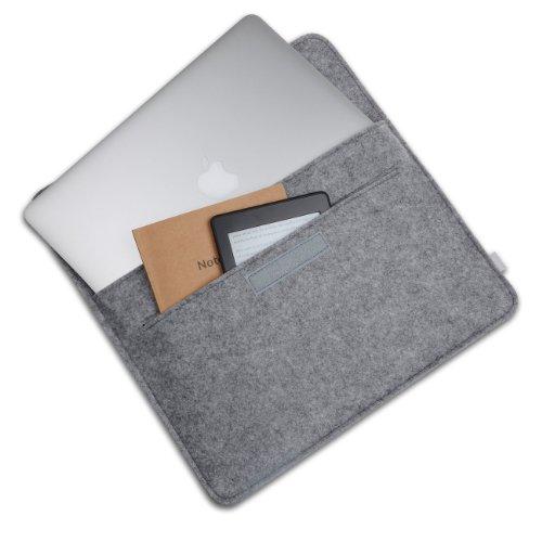 13 3 pouces inateck housse en feutre de laine pour for Housse macbook air 13 pouces