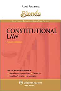 Blonds Law Guides Constitutional Law