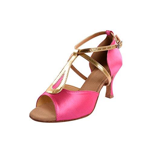 Kevin Fashion ,  Damen Tanzschuhe , Pink - rose - Größe: