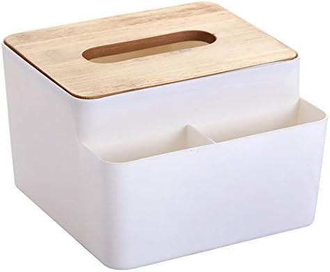 Caja de pañuelos de madera Estilo europeo Home Tissue Container Toalla servilleta de pañuelos de papel para oficina Decoración del hogar: Amazon.es: Hogar