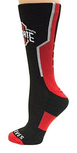 (Donegal Bay NCAA Ohio State Buckeyes Unisex Ohio State Black Sport Sockohio State Black Sport Sock, Red, One Size)