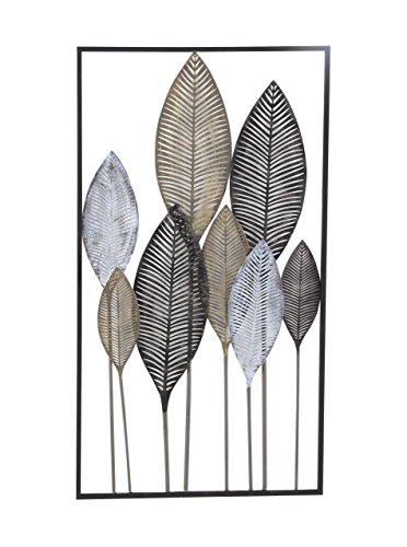- Deco 79 65649 Metal Leaf Wall Decor, 37