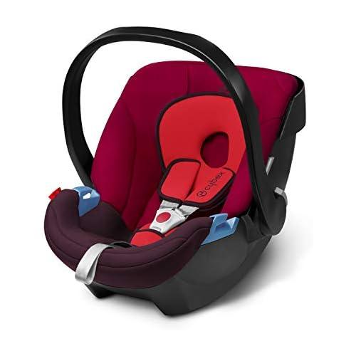chollos oferta descuentos barato Cybex Silver Portabebés Aton en contra de la marcha incluye reductor para recién nacido desde el nacimiento hasta aprox 18 meses max 13 kg rumba red