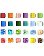 Refrigerator Magnets Cute Fridge Magnets for Whiteboard, Locker | Colorful Magnets Glass Decorative Magnets for Office Kitchen - 24PCS