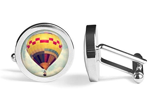 Hot Air Balloon Cufflinks (Angled Edition) ()