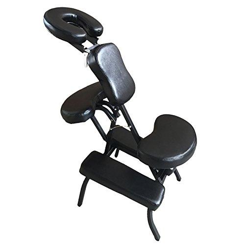 Mefeir Portable PU Tattoo Folding Chair Travel Massage Bed Table,Salon Spa Stool
