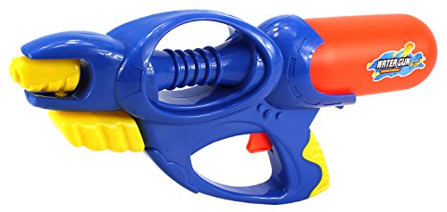 E-Power Single Nozzle Pump Children's Toy Water Gun, Super Blaster Soaker (Colors May Vary) (Toy Pink Pump Action Shotgun)