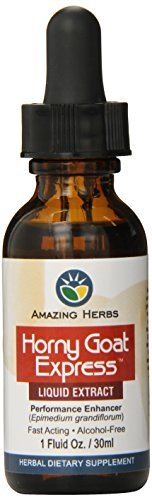 (Horny Goat Weed Express Liquid Extract - 1oz by Amazing Herbs)