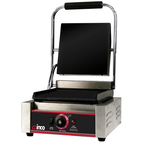Winco ESG-1 Sandwich Grill, electric, countertop single