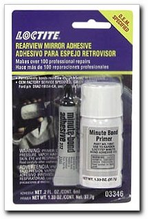 Loctite 03346 Rearview Mirror Adhesive Kit, 6-milliliter
