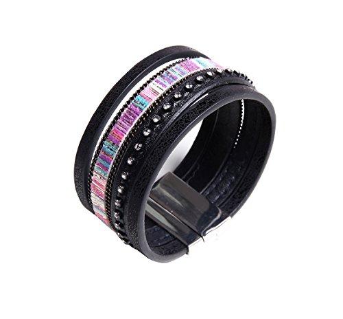Rhinestones Comfortable Bracelet Adjustable Wristband product image