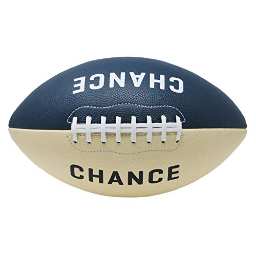 Chance Football - Composite PRO Leather (Sizes 7 Kids & Youth Football, 9 Official NFL Football Size) (9 Official - 11