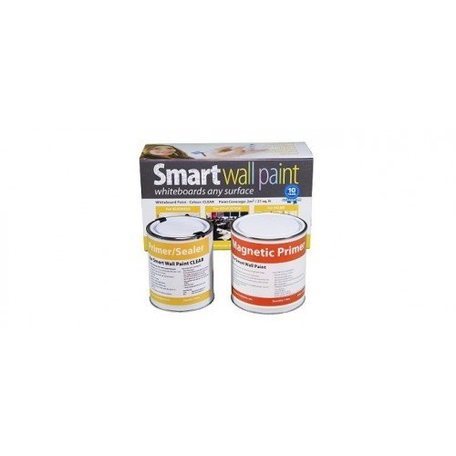 Magnetic & Dry-Erase Paint 129 ft² / 12m² - Clear by Smarter Surfaces