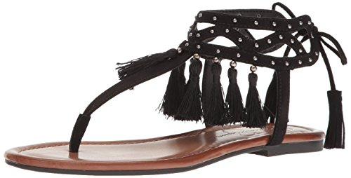 Jessica Simpson Women's Kamel Dress Sandal, Black, 9 M US - Jessica Simpson Slingback Shoes