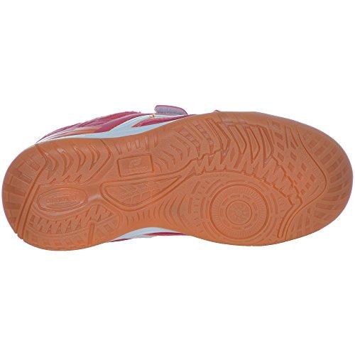 Pro Touch Ind-Schuh Courtplayer Klett Jr. - rot/orange, Größe:37