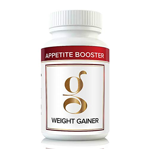 Gain Weight Fast w Appetite Booster Stimulates Appetite Enzymes Better Than Weight Gain Pills for Fast Massive Weight Gain in Men and Women While Opening Your Appetite More