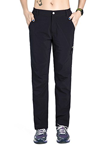 Nonwe Women's Quick Drying Lightweight Hiking Pants with Drawstring Hem