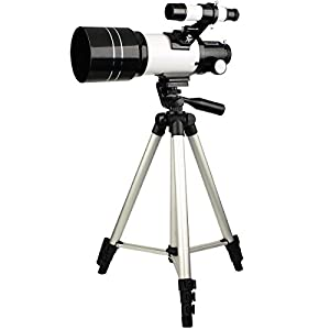 SVBONY 70mm Refractor Astronomical Telescope for Entry Level Amateur Astronomers Children Teens Beginners to Explore Land and Sky with Tripod