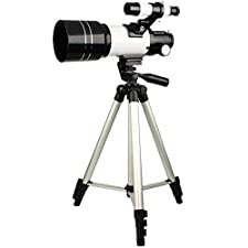 SVBONY Astronomy Telescope 70mm Refractor Scope for Beginners and Kids to Explore Land and Sky with Adjustable Tripod and Finder Scope