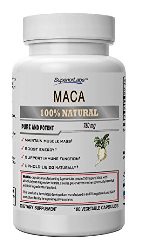 Maca Superior Labs Vegetable Guarantee