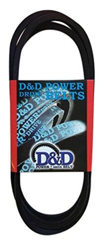 D/&D PowerDrive B180 V Belt 5//8 x 183 OC B//5L Rubber