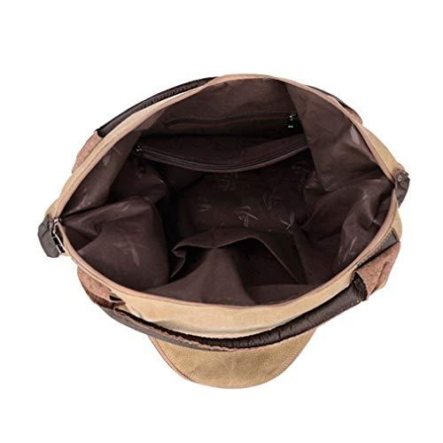A Borse In Spalla Da Grandi Small Tracolla Laoling A small Casual Coffee Donna Pelle Borse Black A Tote Tracolla Per Di Tela qgfzw8fxt