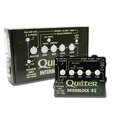 Quilter InterBlock 45 45-Watt Guitar Amplifier/Preamp Pedal by Quilter (Image #5)