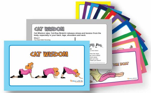 Self-Regulation Flash Cards - 16 Adventure Skills from Scoot