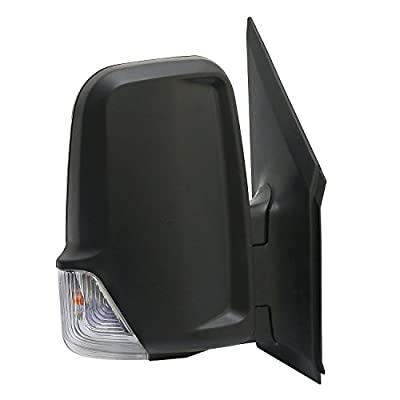 Replacement Power Mirror W/Signal for Dodge Freightliner Mercedes Benz Sprinter 2006-Current time 9068106016 9068106116 (Passenger (RH) Side): Automotive