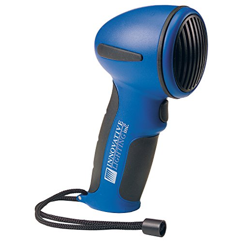 Operated Electronic - Innovative Lighting Inc 545-5010-7 Hand Held Electric Horn - Blue