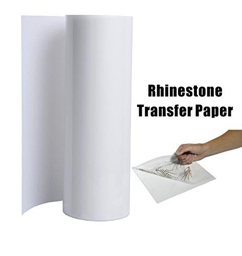 10Ft x 11 inch Roll Hot Fix Rhinestones Transfer Paper, Acrylic Transfer Tape