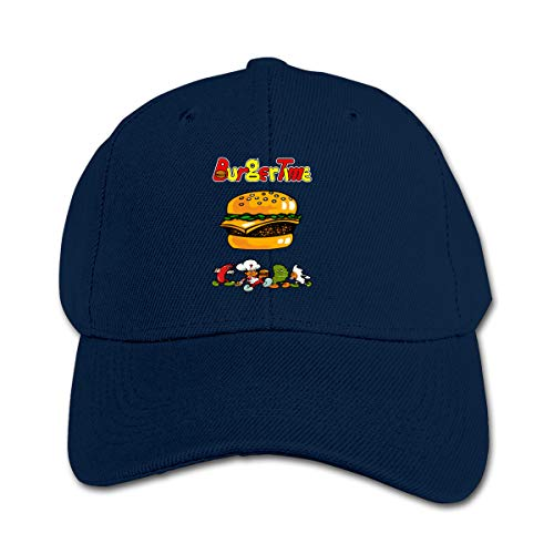 GUFEIFEIN Burgertime Kid's Peaked Hat Boys Girls Adjustable Baseball Cap
