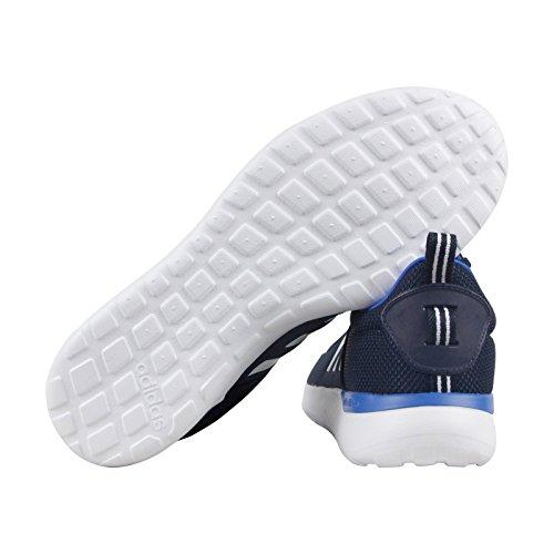 Adidas Mens Cloudfoam Lite Racer Scarpa Da Corsa Blu / Bianco / Blu