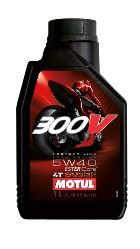 4t Competition Synthetic Oil (Motul 300V 4T Competition Offroad Synthetic Oil - 5W40 - 4L. 102708)