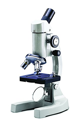 NATIONAL OPTICAL & SCIENTIFIC 109 Model 109 Elementary Student Microscope with Inclined Viewing Head, 42 mm Plano-Concave Mirror, 450 mm H, 300 mm W, 275 mm L by NATIONAL OPTICAL & SCIENTIFIC