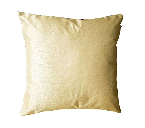 16″ X 16″ Indian Designer Decorative Vintage Silk Handmade Throw Pillow Case Cover S ...