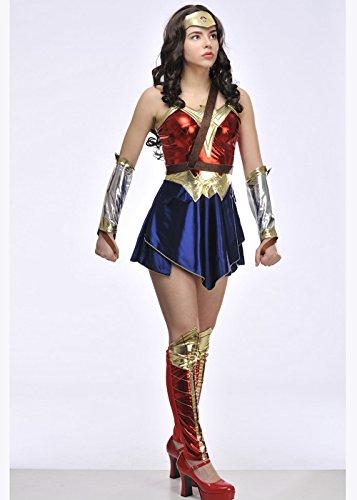 Señoras Batman v Superman Wonder Woman Traje Medium (UK 12 ...