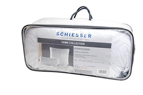 Schiesser ganzjahres Kopfkissen 80 x 80 cm / Allergiker geeignet / verschiedene Größen