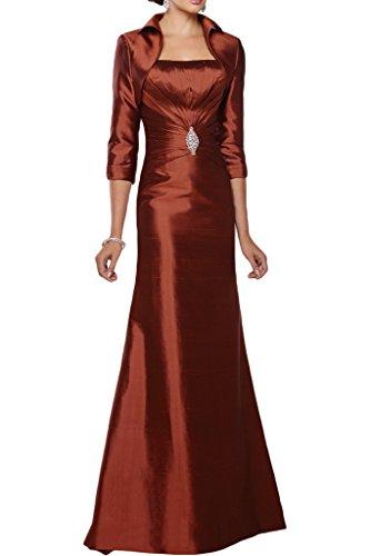 Missdressy -  Vestito  - plissettato - Donna arancione scuro 44
