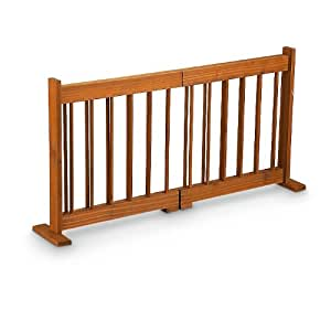 Amazon Com Expandable Wooden Pet Gate Baby