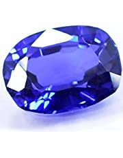 Natural sapphire stone Weight: 6.15 carats Size: 12.03 x 9.06 x 6.16 mm Salad 9 with identification card
