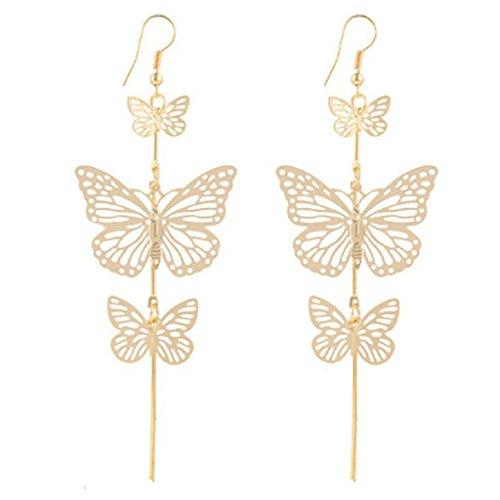 Robiear Fashion Butterfly Earings Eardrop