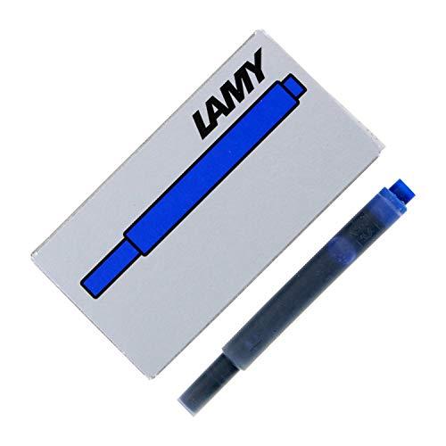 Lamy T10 Cartuches De Tinta Para Plumas Estilograficas 10 X Pacquetes De Azul 50 Cartuches En Total