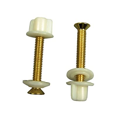 Danco 88653 Brass Plated Toilet Seat Hinge Bolts