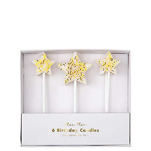 Meri Meri Gold Glitter Star